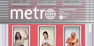 """Parte da capa do """"Mães em Quarentena"""", caderno especial de Dia das Mães lançado por Metro Jornal e Canguru News."""