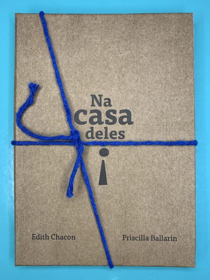 Livros que resgatam os fios da nossa memória (para ler com os filhos); capa do livro 'Na Casa Deles'