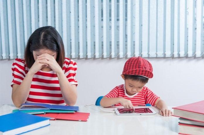 Imagem para ilustrar matéria sobre como ter mais paciência com as crianças.