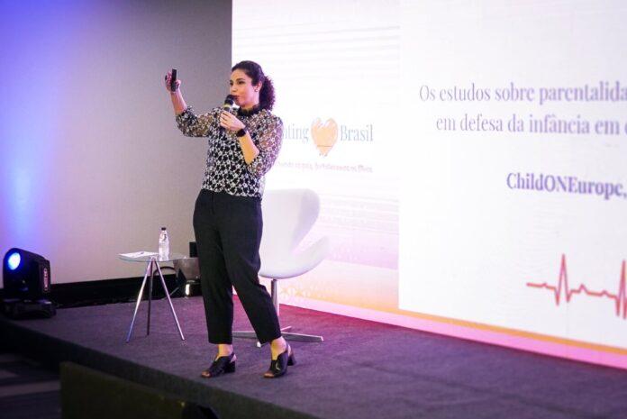 Parenting Brasil: como a educação parental pode transformar a realidade das famílias; Ivana Moreira durante Parenting Brasil