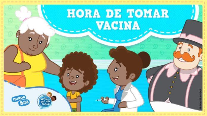 Video Horade tomar vacina do Mundo Bita