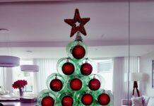 Árvore de Natal de garrafa pet: saiba como fazer a sua