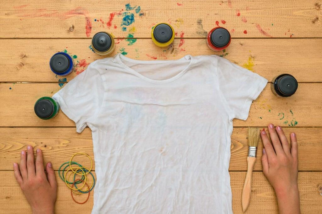 Camiseta molhada