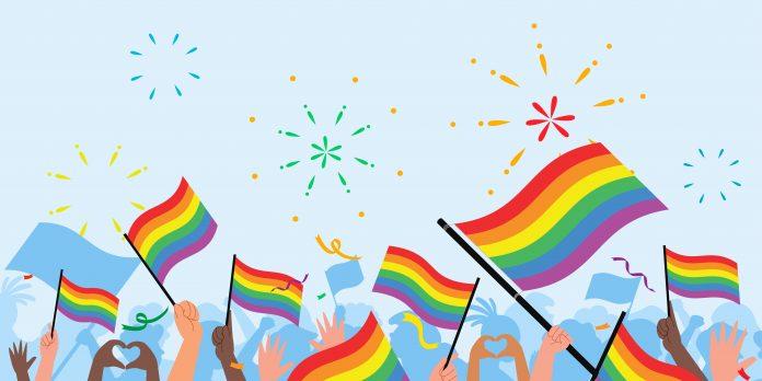 PL que proíbe diversidade sexual em publicidades infantis é revisto, ilustração bandeiras LGBT+