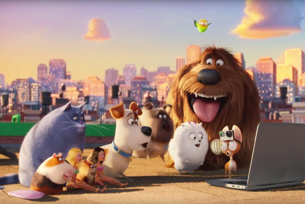 5 filmes sobre pets para assistir com as crianças, cena do filme Pets: a vida secreta dos bichos