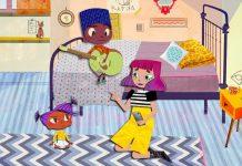 Ações digitais alerta para violência contra crianças e adolescentes; cena de animação série