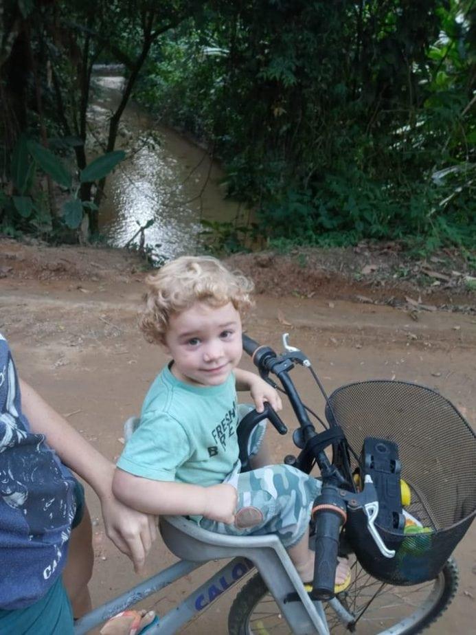 Nathalia Esterci e Ricardo, seu filho de 2 anos/Foto: Arquivo pessoal