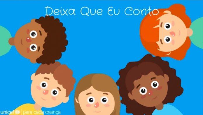 Unicef lança guia com brincadeiras para uso em casa e na escola; ilustração do Unicef mostra círculo formado por rostos de crianças diversas