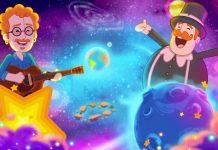 Cantor Nando Reis vira personagem de clipe do 'Mundo Bita'; reprodução de cena de novo clipe do Mundo Bita com Nando reis