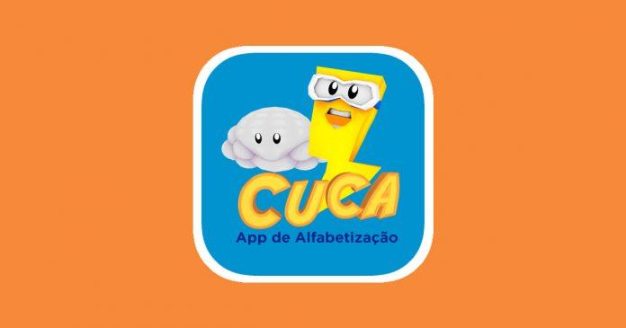 Conheça o Cuca: o aplicativo inovador para o ensino da alfabetização; imagem do aplicativo Cuca