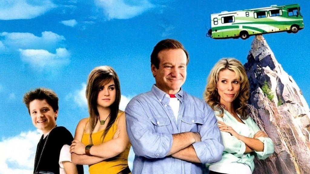 5 filmes sobre férias em família para assistir com as crianças; cartaz do filme 'Férias no Trailer