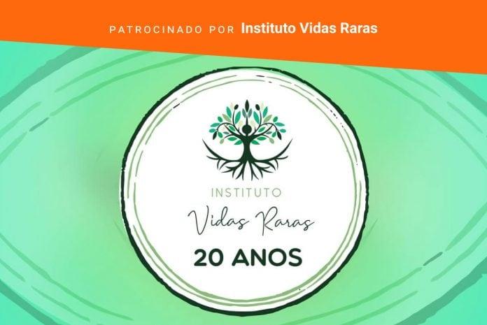 Instituto celebra duas décadas de luta pelas vidas 'raras'; selo comemorativo dos 20 anos do Instituto Vidas Raras