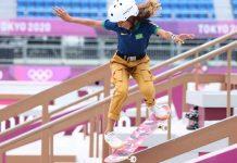 Skate, um esporte para qualquer idade; skatista Rayssa Leal nas Olimpíadas Tokyo 2020