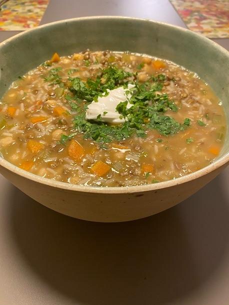 Sopa Harira, dica de receita da chef Ariela Doctors