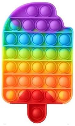Fidget toy: o brinquedo do momento que estimula o bem-estar; Foto do Bubble Fidget Toy em forma de sorvete