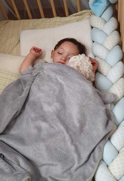 Insônia infantil: quais são as causas e como tratar? ; José Pacheco Coelho, 2 anos.