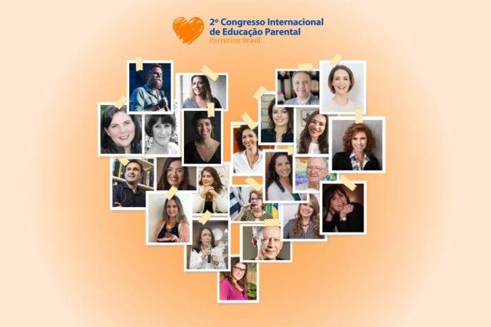 2º Congresso Internacional de Educação Parental trará 23 experts na educação de pais e mães; Mosaico de fotos mostra 23 palestrantes do congresso de educação parental