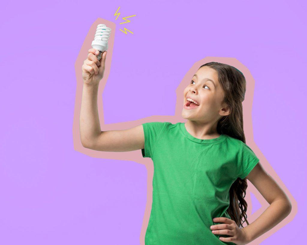 Entenda como educar as crianças sobre consumo consciente de energia
