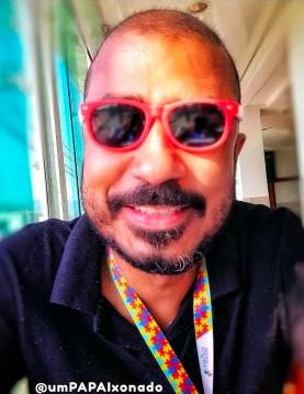 Famílias com Covid-19: Nilton Rodrigues, pai de 4 crianças