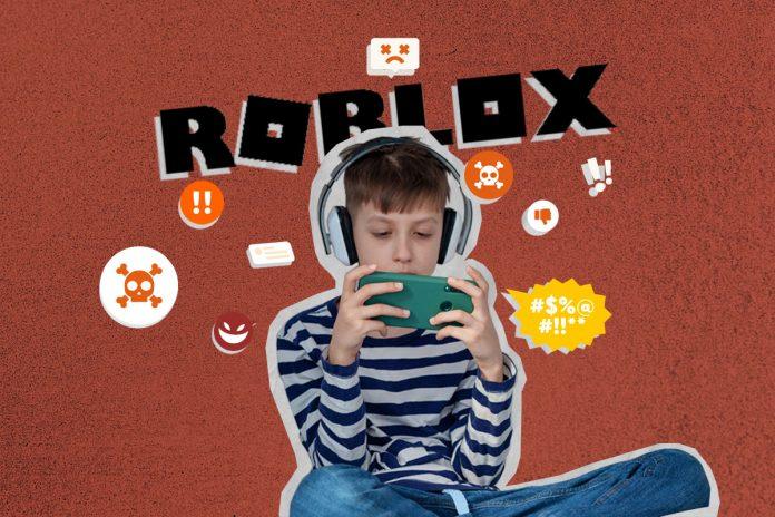 Infiltrados nos games: o perigo do assédio de crianças em jogos online; criança com fones de ouvido jogando jogo no celular