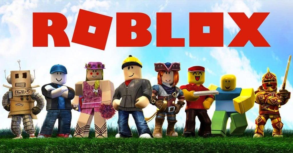 Infiltrados nos games: o perigo do assédio de crianças em jogos online; Banner do jogo online Roblox, com alguns personagens.
